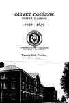 Olivet College Twenty-fifth Annual Catalog 1938-1939