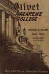 Olivet Nazarene College Annual Catalog 1948-1949