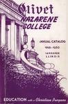 Olivet Nazarene College Annual Catalog 1949-1950