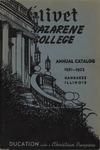 Olivet Nazarene College Annual Catalog 1951-1952