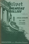 Olivet Nazarene College Annual Catalog 1953-1954