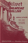 Olivet Nazarene College Annual Catalog 1954-1955