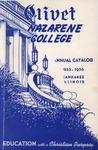 Olivet Nazarene College Annual Catalog 1955-1956
