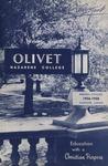 Olivet Nazarene College Biennial Catalog 1956-1958