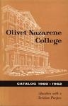 Olivet Nazarene College Biennial Catalog 1960-1962