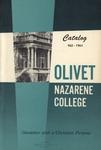 Olivet Nazarene College Biennial Catalog 1962-1964
