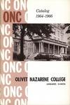 Olivet Nazarene College Biennial Catalog 1964-1966