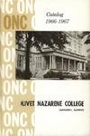 Olivet Nazarene College Annual Catalog 1966-1967