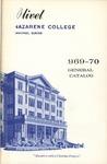 Olivet Nazarene College Annual Catalog 1969-1970