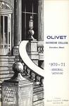 Olivet Nazarene College Annual Catalog 1970-1971