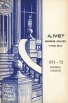 Olivet Nazarene College Annual Catalog 1971-1972