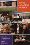 Olivet Nazarene College Annual Catalog 1976-1977
