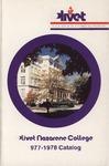 Olivet Nazarene College Annual Catalog 1977-1978