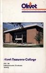 Olivet Nazarene College Annual Catalog 1979-1980