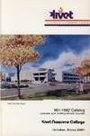 Olivet Nazarene College Annual Catalog 1981-1982
