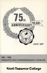Olivet Nazarene College Annual Catalog 1982-1983