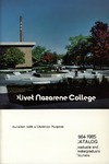 Olivet Nazarene College Annual Catalog 1984-1985