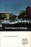 Olivet Nazarene College Annual Catalog 1984-1985