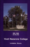 Olivet Nazarene College Annual Catalog 1985-1986