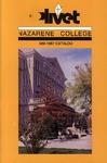 Olivet Nazarene College Annual Catalog 1986-1987