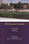 Olivet Nazarene University Annual Catalog 1991-1992