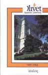 Olivet Nazarene University Biennial Catalog 1992-1994