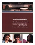 Olivet Nazarene University Annual Catalog 2007-2008