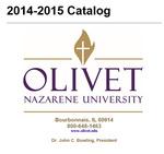 Olivet Nazarene University Annual Catalog 2014-2015 by Olivet Nazarene University
