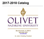 Olivet Nazarene University Annual Catalog 2017-18