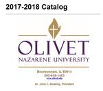 Olivet Nazarene University Annual Catalog 2017-18 by Olivet Nazarene University
