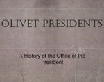 Olivet Presidents: A History of the Office of the President by Kratina Simmons