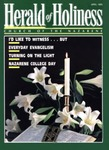 Herald of Holiness Volume 84 Number 04 (1995) by Wesley D. Tracy (Editor)