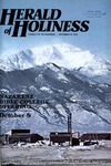 Herald of Holiness Volume 67 Number 18 (1978)