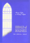 Herald of Holiness Volume 50 Number 28 (1961)