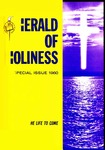 Herald of Holiness Volume 49 Number 01 (1960)