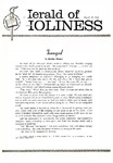 Herald of Holiness Volume 49 Number 04 (1960)