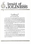 Herald of Holiness Volume 49 Number 12 (1960)