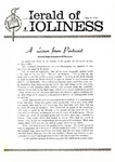 Herald of Holiness Volume 49 Number 13 (1960)