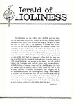 Herald of Holiness Volume 49 Number 17 (1960)
