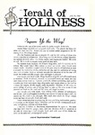 Herald of Holiness Volume 49 Number 21 (1960)