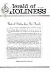 Herald of Holiness Volume 49 Number 22 (1960)