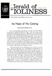 Herald of Holiness Volume 49 Number 36 (1960)