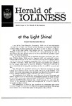 Herald of Holiness Volume 49 Number 41 (1960)
