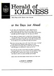 Herald of Holiness Volume 49 Number 42 (1960)
