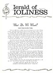 Herald of Holiness Volume 48 Number 17 (1959)