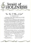 Herald of Holiness Volume 48 Number 30 (1959)