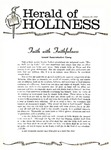 Herald of Holiness Volume 48 Number 47 (1960)