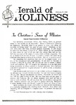 Herald of Holiness Volume 48 Number 51 (1960)