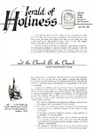 Herald of Holiness Volume 47 Number 08 (1958) by Stephen S. White (Editor)