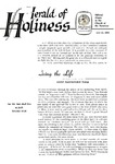 Herald of Holiness Volume 47 Number 17 (1958)